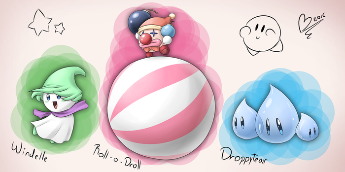 The Cancelled Kirby GCN Enemies by Zieghost