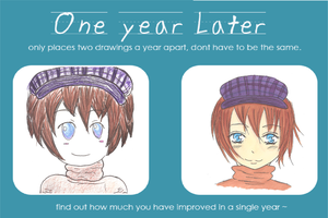 Has it really been a year? by missanimestranger