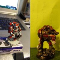 Gunner, before and after by KapellanIXLegion