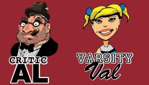 Critic Al and Varsity Val by HamsterRage
