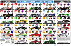 Vector - ALMS Spotter Guide by andyblackmoredesign