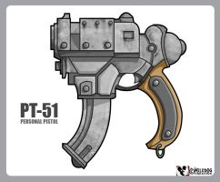 PT-51 Side-arm by wiledog