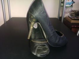 Steampunk Shoes by Angel-Lithium