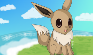Eevee By The Shore by Budbud225
