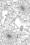Beneath The Brambles FREE colouring page by gutterface