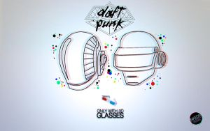 Daft Punk 3D by inkedr