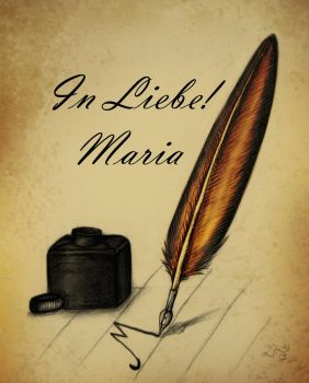 In Liebe! Maria by Tutziputz