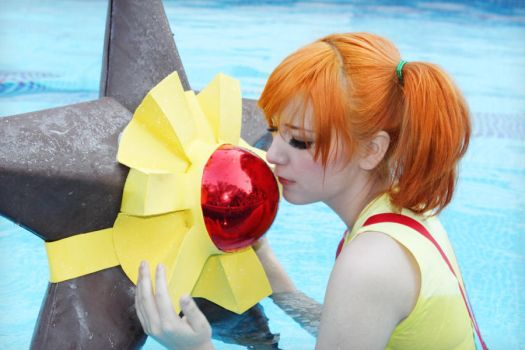 Misty and Staryu cosplay by SailorMappy