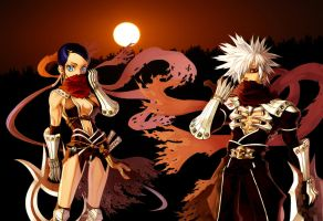 Assassin's Sunset by viciousoul