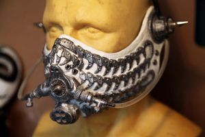 Steampunk Mekanika Respirator Mask by Faust-and-Company