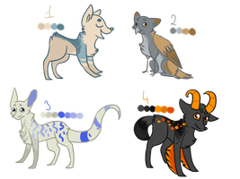 Random adopts 4 CLOSED by TlKl
