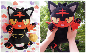 Litten plush for Auction(closed)