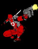 Free Sketch 28-1-9 Deadpool by Dub-T