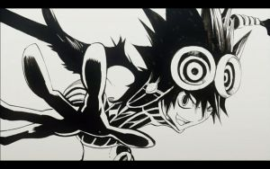 crow from bakuman by devi-san2010