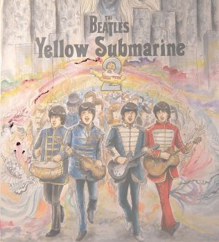 Yellow Submarine Poster by ReitaWolf