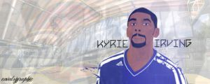 Kyrie Irving | Vector Signature by BOArtt