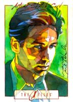 Fox Mulder by markmchaley