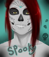 Day Of The Dead Shawnda by Inceadeus