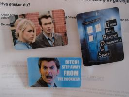 Whovian Refrigerator Magnets by killjimmy