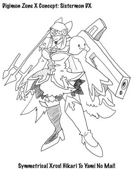 DZX: Sistermon DX Concept by BlueIke