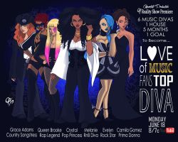 Love of Music Fans Top Diva by Cahnartist