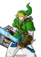 LoZ: Link -coloured- by jc25813