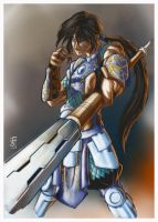Zhao Yun by tew-tew