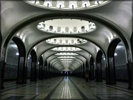 Art of Moscow Metro. 19. by VeIra-girl