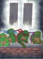 TMNT will Never Forget by zimaro