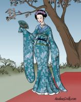 Japanese Maiden by LadyIlona1984