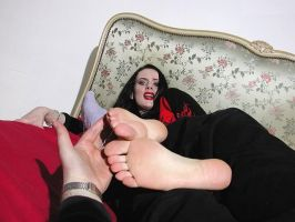 Gothic Soles Tickled 11 by jason9800player2