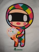 Tokidoki's Ice Cream Bandit by crazyazianfosho