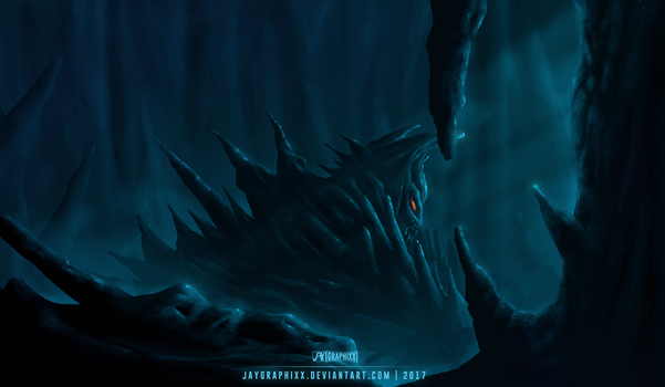 Fable Of The Stone Beast by JayGraphixx