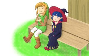 Link and Irene by Beary-Boo