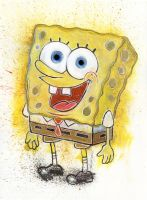 Spongebob Squarepants by LukeFielding