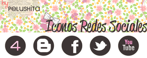 Iconos redesSociales by PelushitaPetisuit