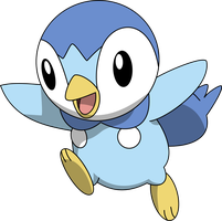 393 Piplup by PkLucario