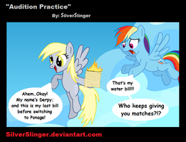 Audition Practice by SilverSlinger