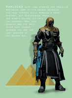 Destiny - The Warlock by HannahRooth