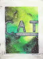 Cat - galaxy by MadCalanchoe