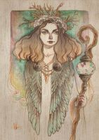 Follow The Forest Guardian by mahtte