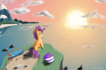 Sunrise by ColorCoatedArt