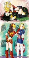 Avengers Shippings: Gender Bender! by kawaii-brutality