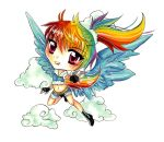 Rainbow Dash Chibi by Mireielle