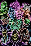 Evil Masters Neon by AlanSchell