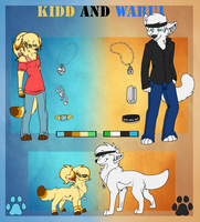 Kidd and Warui reff by Blind-Kidd