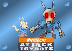 ROCKO AND ROCKOBOT by mayozilla
