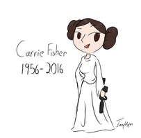 Rest in Peace, Carrie by Imaplatypus