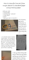 How to use tracing paper by Yuuricchin