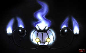 Chandelure by DeidaraEmoArtist